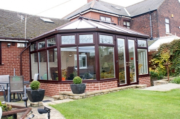 Conservatory Installation in Chesterfield