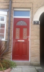 A selection of installed Composite Doors